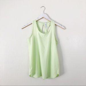 Ivivva Lime Neon Green Tank Top